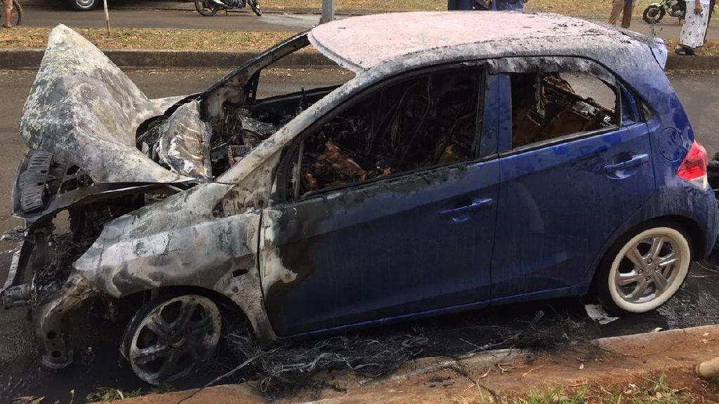 Honda Brio yang Terbakar di Bekasi Baru Dipakai 8 Bulan