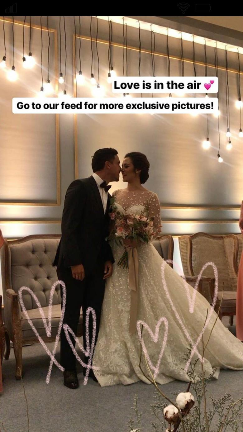 Digelar Tertutup, Resepsi Pernikahan Raisa - Hamish Daud Dihadiri Seleb Foto: Instagram/ The Bridestory