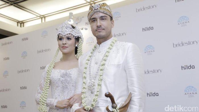 Raisa dan Hamish Daud menikah di Ayana Mid Plaza Hotel (Asep Syaifullah/ detikHOT)