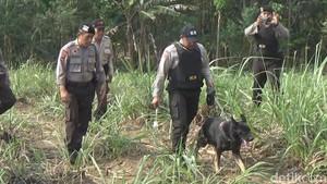 Anjing Pelacak Diterjunkan Buru Terduga Pembunuh Istri Polisi