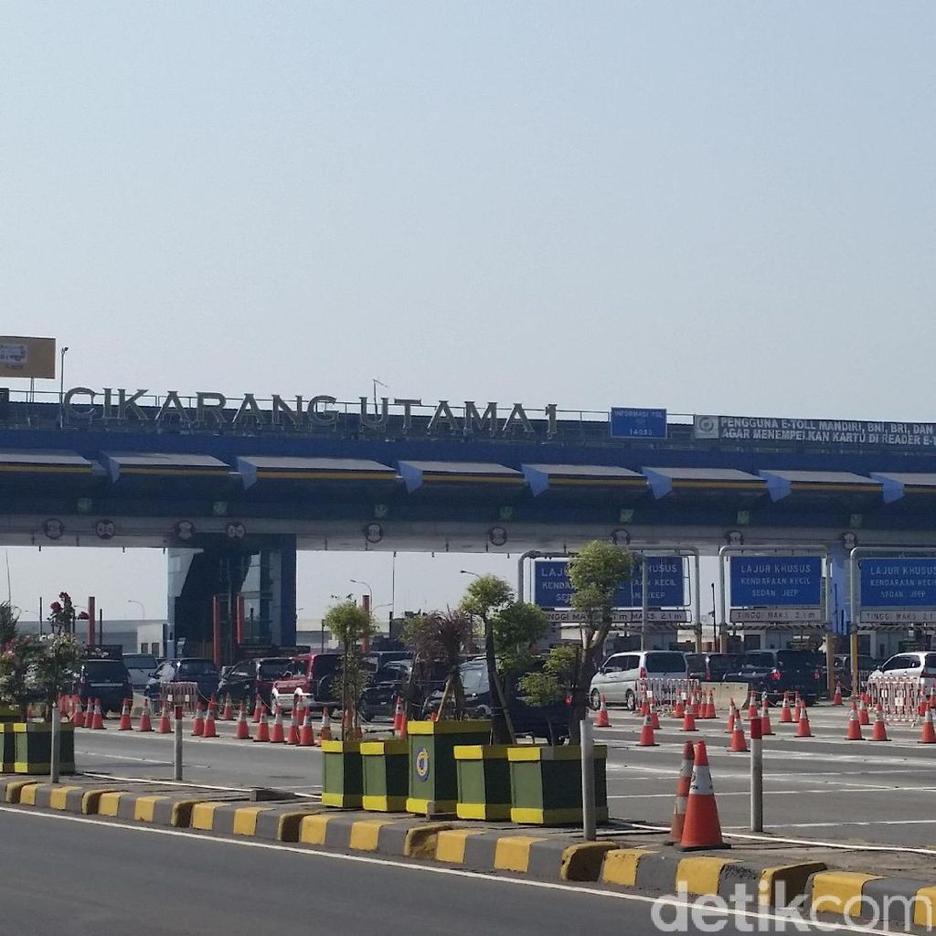 130 Ribu Kendaraan Masuk ke Jakarta pada H+4