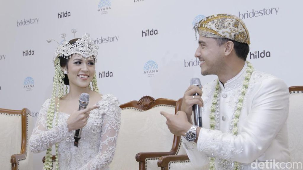 Rayakan Ultah Pernikahan, Raisa Pamer Perut Buncit