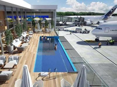Segar! Bandara Ini Bakal Punya Kolam Renang