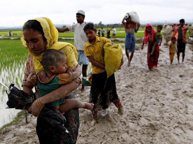 Keji! Myanmar Sengaja Tanam Ranjau Untuk Pengungsi Rohingya