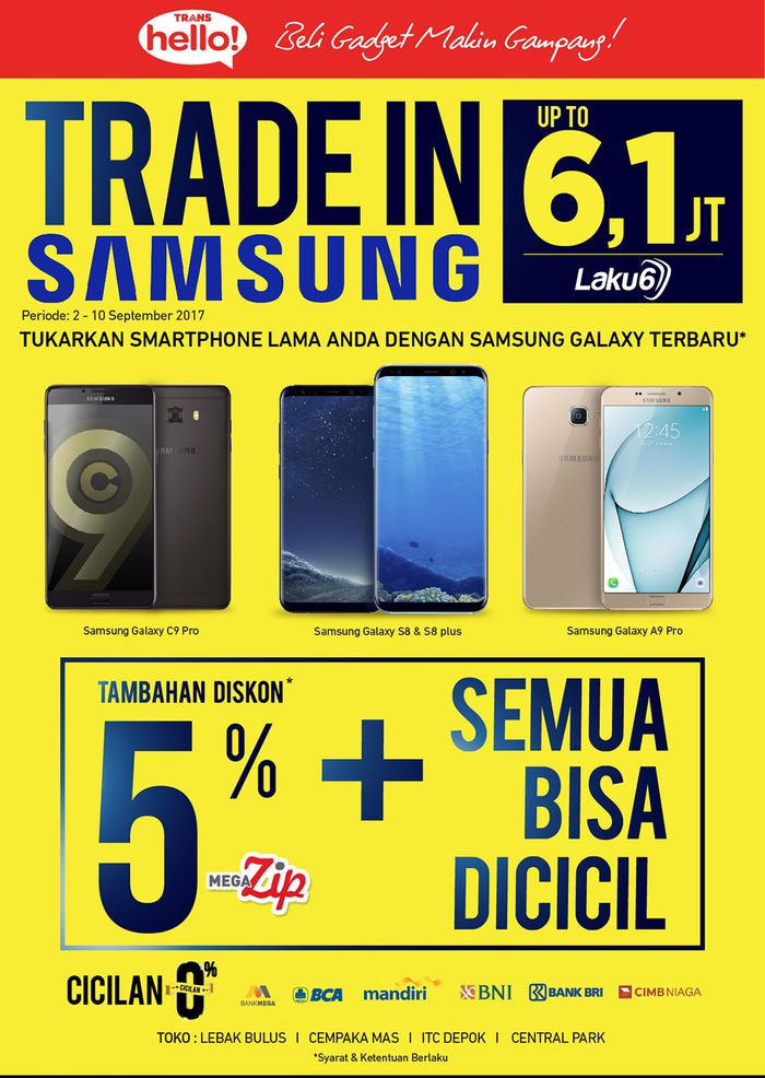 Foto: Tukar Tambah Smartphone di Trans Hello Transmart Carrefour