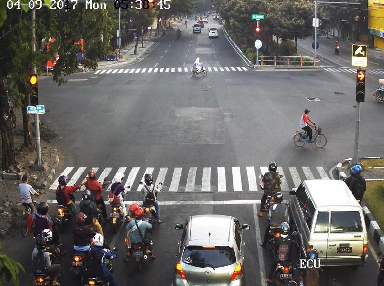 Ilustrasi tilang CCTV di Depok. Foto: Istimewa