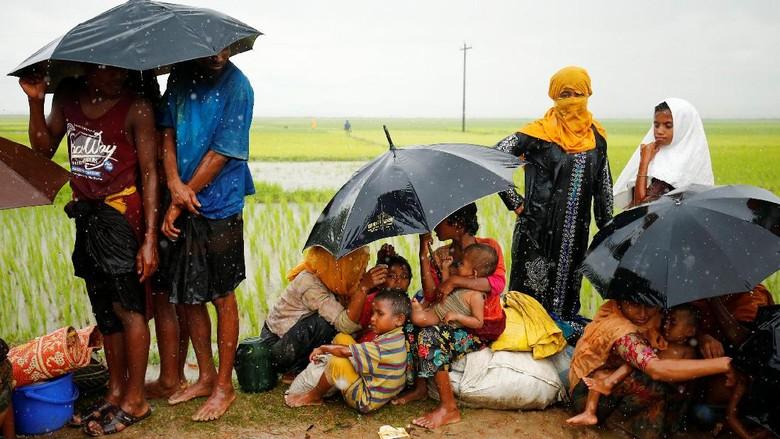 PBB Sebut 87 Ribu Pengungsi Rohingya Sudah Ada di Bangladesh
