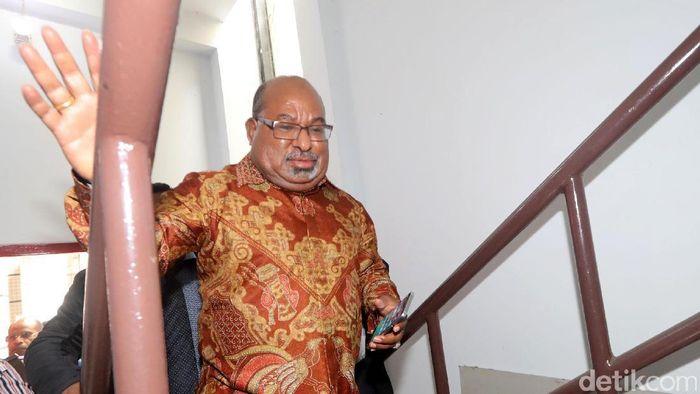 Gubernur Papua Lukas Enembe/Foto: Grandyos Zafna