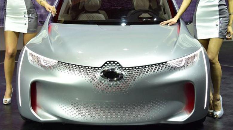 Samsung bekerja sama dengan Renault untuk mengembangkan kendaraan. Foto: BBC