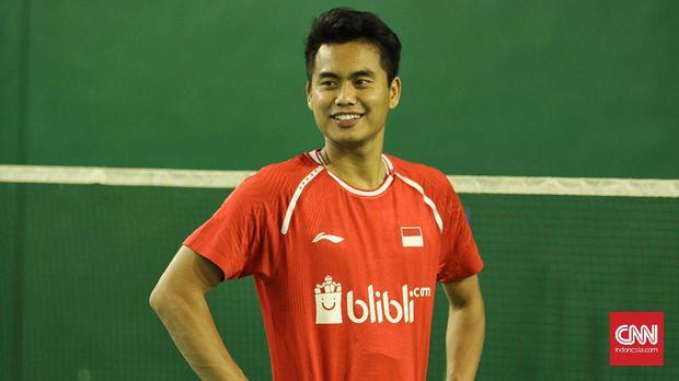 Tontowi Ahmad berencana mundur dari Pelatnas Cipayung. (