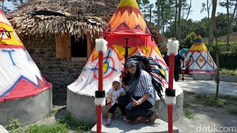 Kampung Indian Kediri (Andhika Dwi/detikTravel)