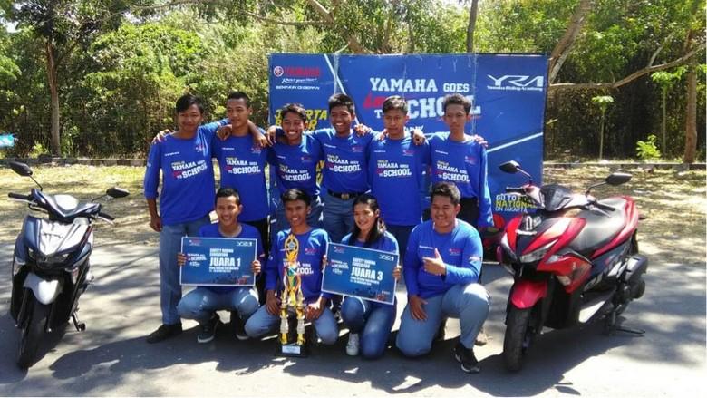 Pemenang Yamaha Goes to School Safety Riding Competition (Foto: Yamaha)