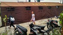 Polres Pelabuhan Tanjung Priok Bantu Korban Kebakaran Muara Angke