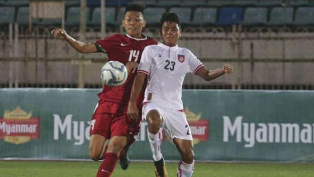 Timnas Indonesia U-19 tembus semifinal Piala AFF U-18 2017.