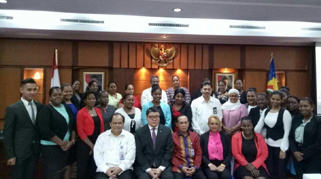 Seychelles Berguru dengan BKKBN Soal Keberhasilan KB di Indonesia