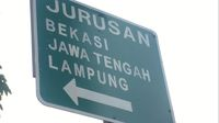 Rambu Bikin Bingung di Jaktim: ke Lampung Diarahkan Lewat Pantura