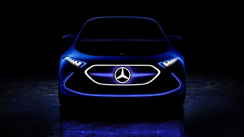 Ilustrasi mobil listrik Mercedes Foto: Pool (Top Gear)
