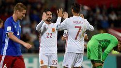 Spanyol Hancurkan Liechtenstein 8-0