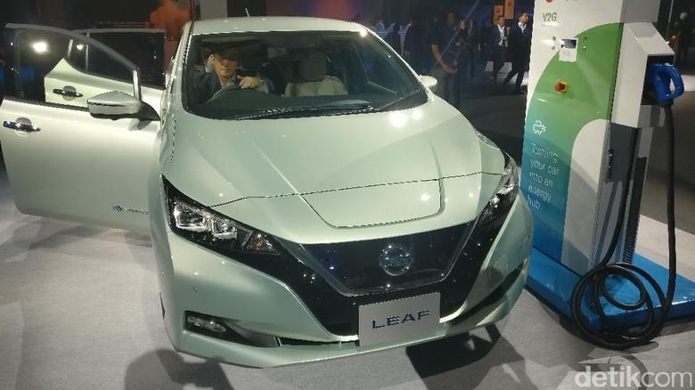 Nissan LEAF model terbaru (Foto: Firdaus Anwar)