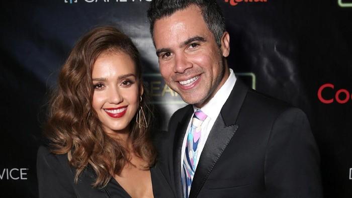 Jessica Alba dan suaminya Cash Warren. Foto: dok. Getty Images