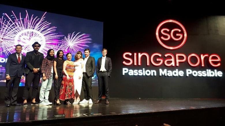 Suasana peluncuran brand Passion Made Possible di Jakarta (Kurnia/detikTravel)