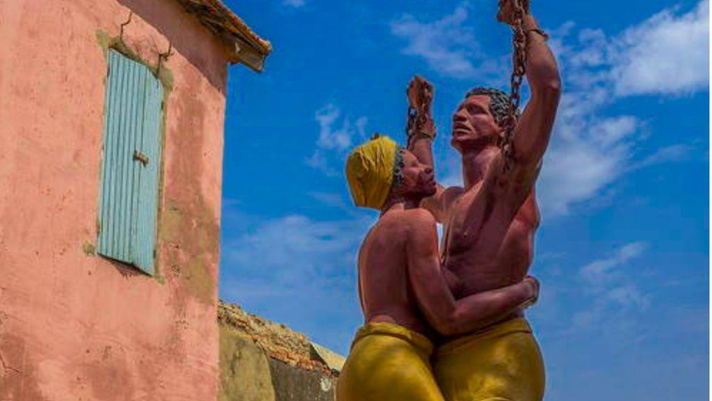Foto: Pulau Budak di Afrika