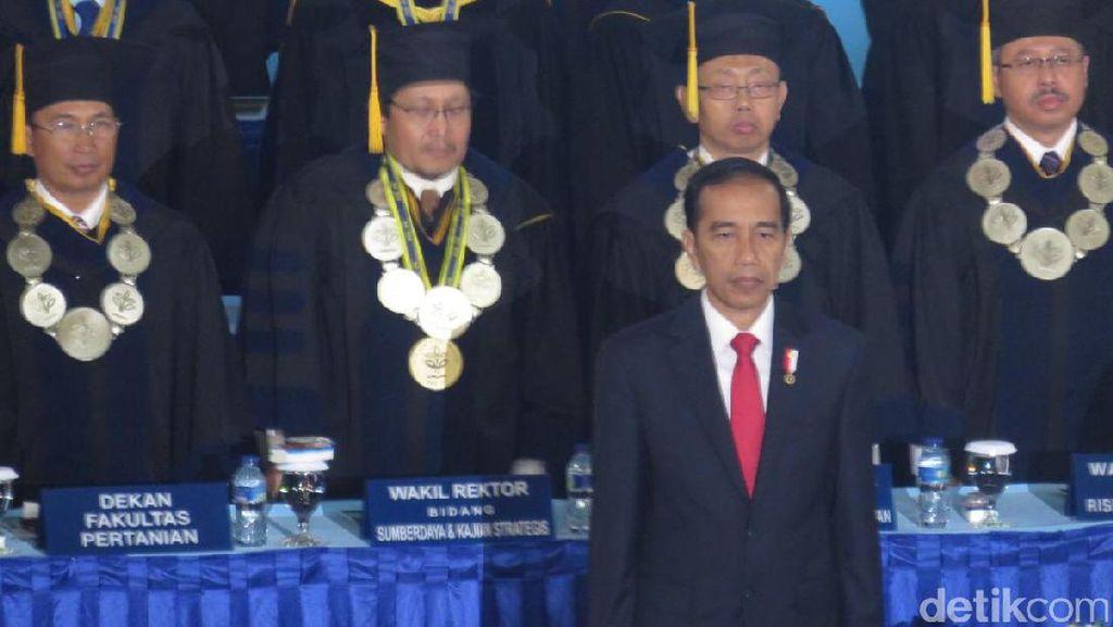 Jokowi akan Orasi Soal Pertanian di Dies Natalis ke-54 IPB