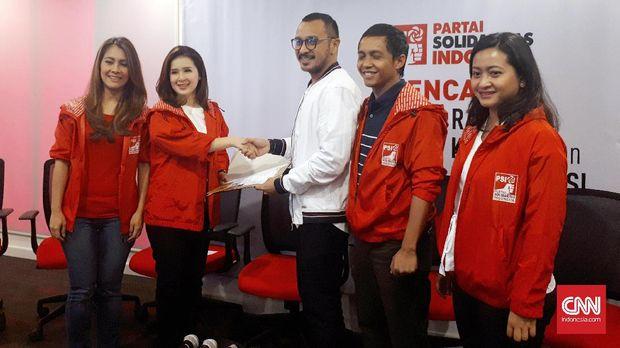PSI, Debutan Muluk Pancang Target Usung Presiden Sendiri