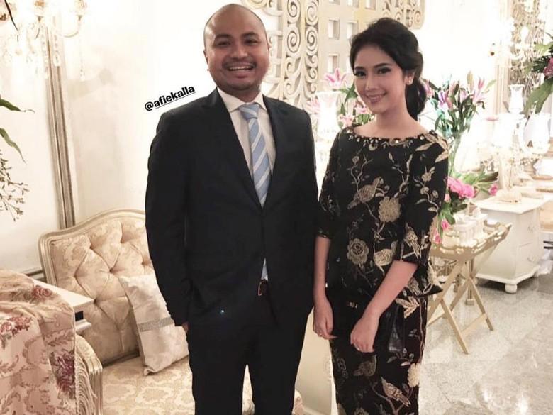 Foto: Afif Kalla dan pacar (Instagram)