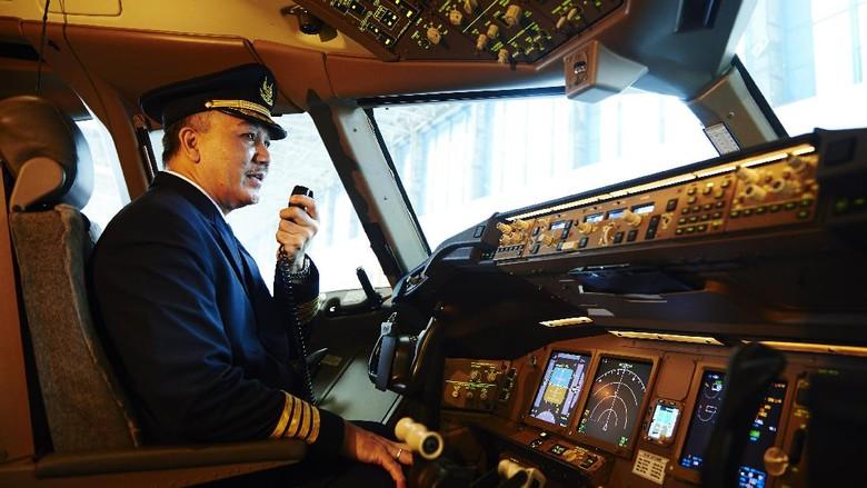 Ilustrasi aktivitas pilot/Istimewa