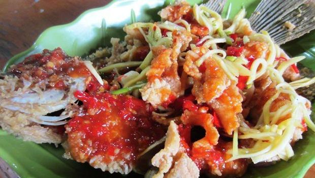 Makanan khas Sunda, Jawa Barat.