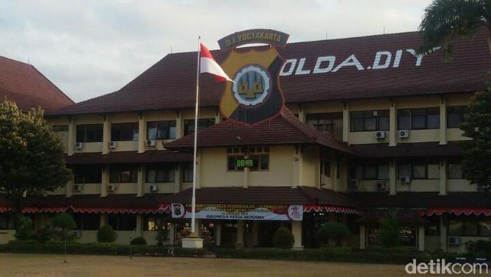 Gedung Mapolda DIY, Kamis (7/9/2017).