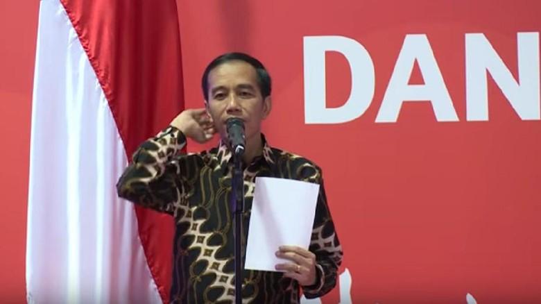 Saat Jokowi Buka Rahasia Kebugaran di Depan Para Pengusaha