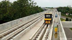 LRT Palembang Beroperasi Paling Lambat Juni 2018