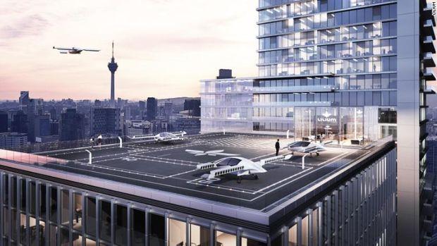 Startup Mobil Terbang Dapat Modal Rp 1,2 Triliun dari China