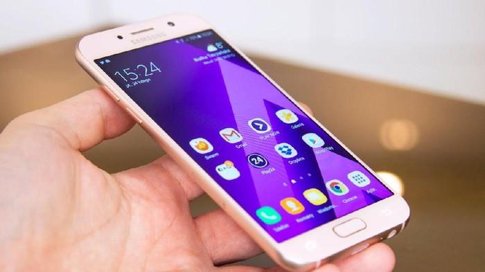 Ilustrasi Galaxy A5. Foto: Internet