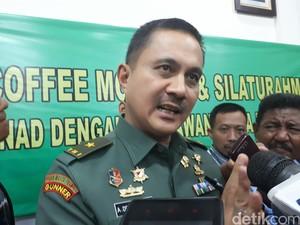 Viral Prajurit Aniaya Pria yang Hina TNI, AD Minta Maaf