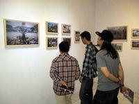 Suasana di dalam pameran 'Di Mana Garuda'