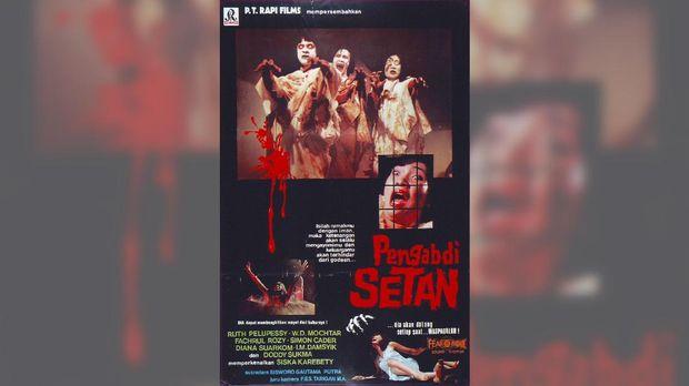 Poster film 'Pengabdi Setan' versi 1980. (dok. Rapi Films)