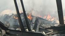 Foto: Pasar Gombong Kebumen Dilumat Api