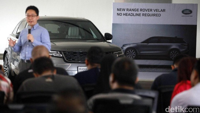 Range Rover Velar Foto: Hasan Alhabshy