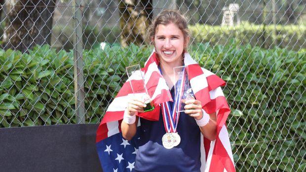 Mengidap autisme tidak membuat Brittany Tagliareni putus asa. Ia bahkan berprestasi di kejuaraan tenis dunia.