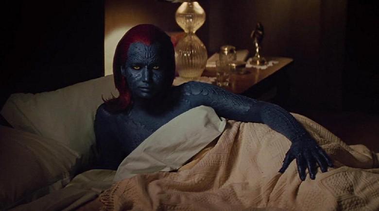 Foto: Jennifer Lawrence sebagai Mystique (imdb)