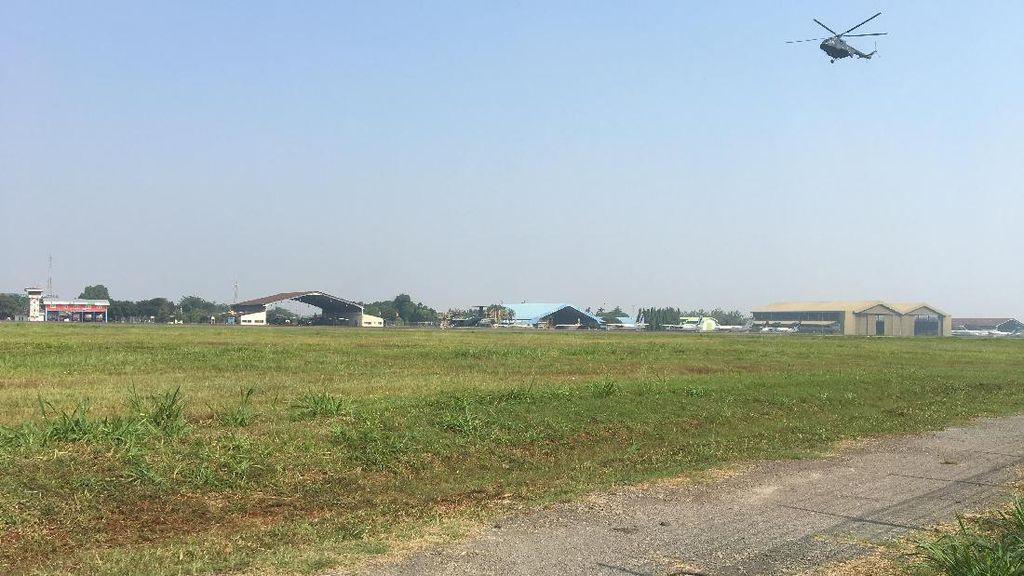 Mau Jadi Bandara Komersial, Jalan ke Pondok Cabe Bak Jalur Neraka