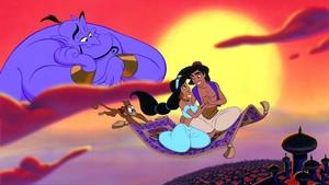 Disney Rilis Poster Aladdin, Will Smith Bakal Berubah Jadi Biru