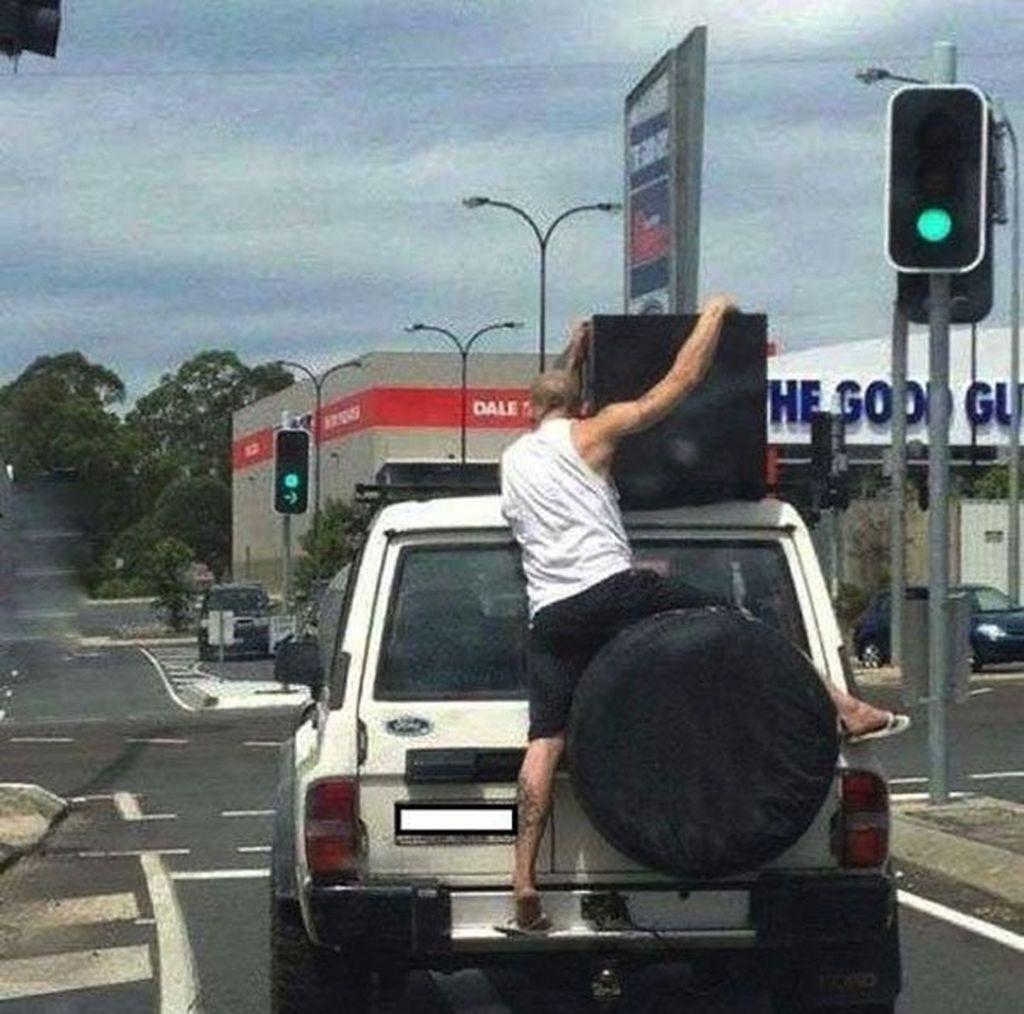 Apa jadinya ketika mobil ini ngebut?(Foto: Internet)