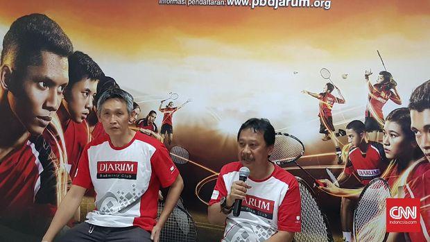 Fung Permadi berharap para atlet junior yang gagal lolos ke final tahap kedua PB Djarum tak patah semangat. (