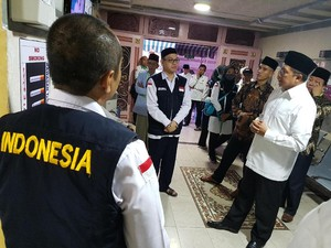 Menag Cek Katering dan Hotel Jelang Pergeseran Jemaah ke Madinah
