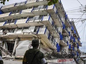 Korban Jiwa Akibat Gempa di Meksiko Bertambah Jadi 58 Orang