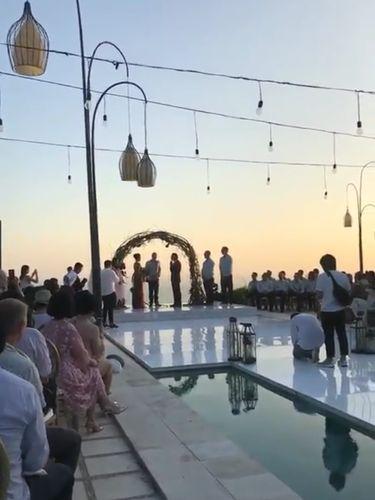 Resepsi pernikahan Raisa dan Hamish Daud di Bali jadi tempat favorit